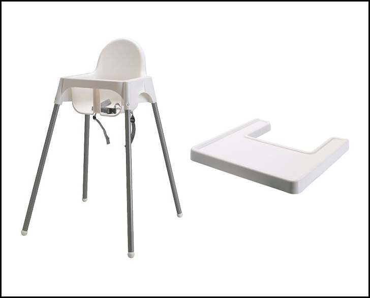 ikea high chair hack meet the needs. Black Bedroom Furniture Sets. Home Design Ideas